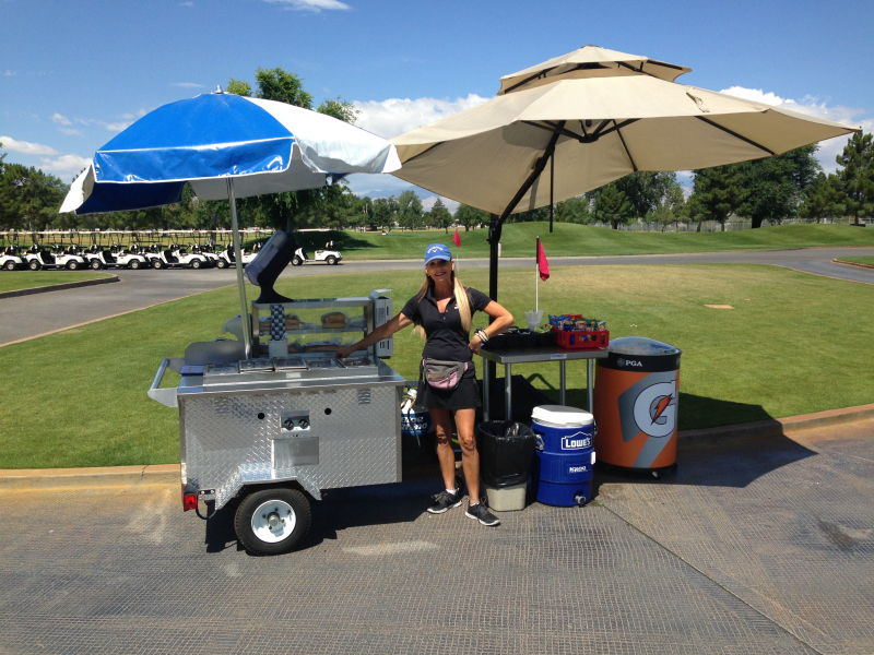 Drink Cart Las Vegas Golf Course